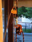 Upper pulley