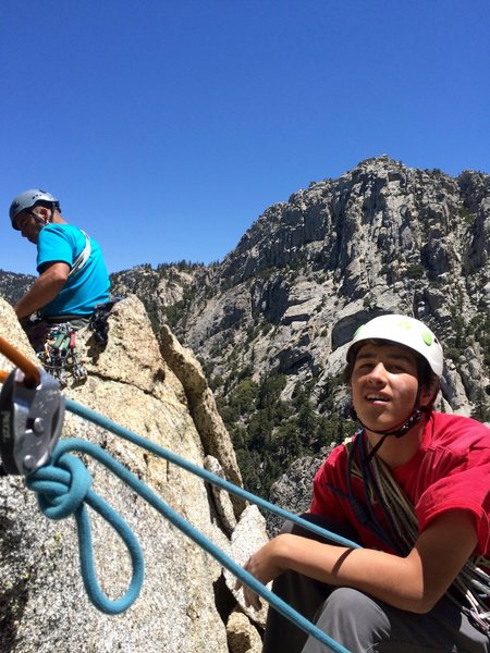 Rock Climbing Photo: The Hernandez Boyz!!!