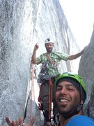 Rock Climbing Photo: Howard  The Hammer & .5Dome!!