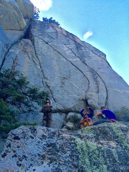 Rock Climbing Photo: Das Crew & The Key Hole Tower!!!