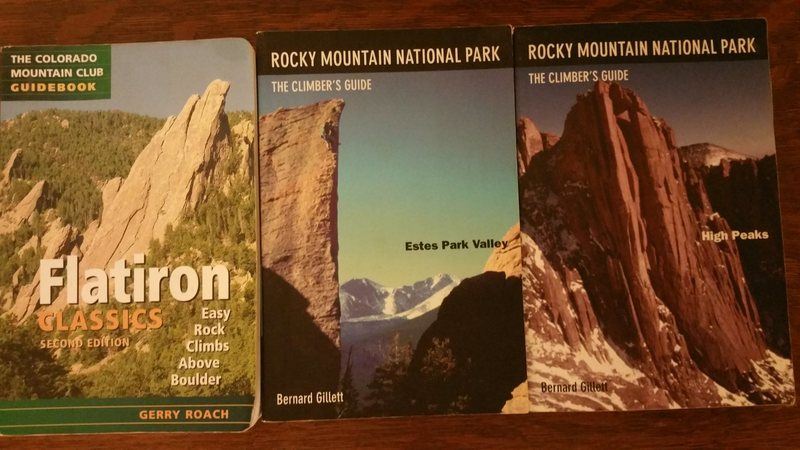 Rock Climbing Photo: Guide books