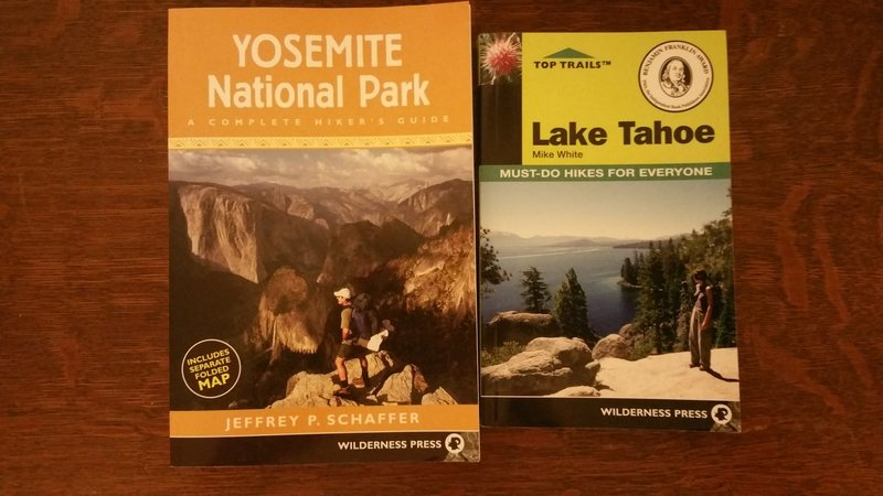Hiking books