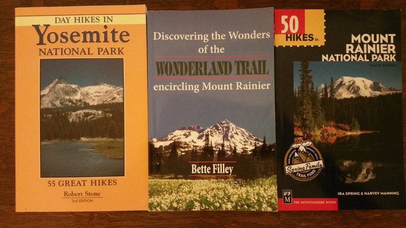 Rock Climbing Photo: Hiking books