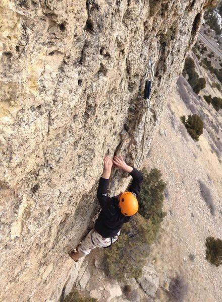Rock Climbing Photo: Sinks Canyon, Wy
