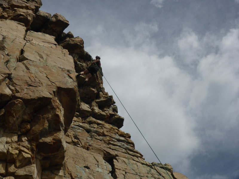Rock Climbing Photo: Uinta Mountains, UT