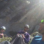 Rock Climbing Photo: Hunter, Chris & The Paisly Buttress!!!
