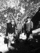 Rock Climbing Photo: Sean, Poppa John &The Larks!!