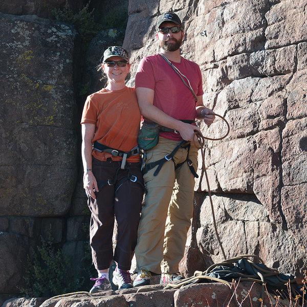 Rock Climbing Photo: Just us!