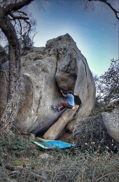 Rock Climbing Photo: Trapped Under Ice
