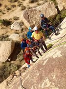 Rock Climbing Photo: Happy Guides & Guides in Training!!