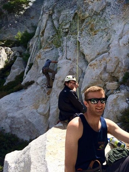 Rock Climbing Photo: Kurt, Jordan, Flecther & the San J Back Country!!