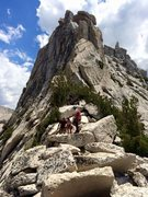 Rock Climbing Photo: Brian, Sara, Sean & Cathedral Peak!!