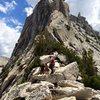 Brian, Sara, Sean & Cathedral Peak!!