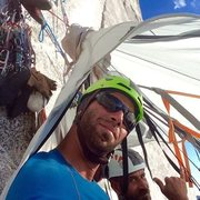 Rock Climbing Photo: Classic .5 Dome high camp, with Howard Hammerland!...