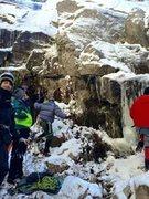 Rock Climbing Photo: Das Crew & The Mysto Ice!!