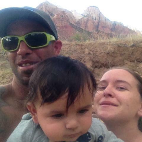 Rock Climbing Photo: My Family-Hunter & Zion!!!