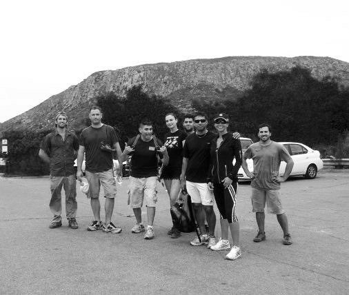Rock Climbing Photo: Das Crew of Clients, Norwood, Valle & Das Gorge!!!