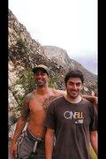 Rock Climbing Photo: Kurt & El Cajon Mountain!!