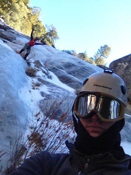 Rock Climbing Photo: Erik & The Mysto Ice!!!