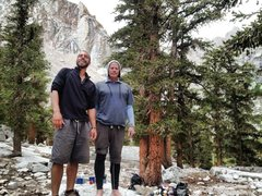 Rock Climbing Photo: Bobathan, Pops & Boy Scout Lake!!