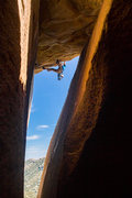 Rock Climbing Photo: Such a fun mantle finish. Don't miss out on it...