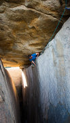 "Rock Climbing Photo: Myself ""Laying Down On The Job"" in the H..."