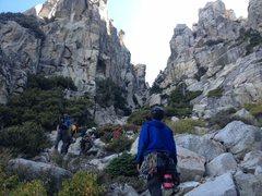 Rock Climbing Photo: Das Crew & The Hallway of The Gods!!