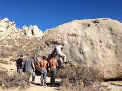 Rock Climbing Photo: Das Crew & the a Funky a Tut!!