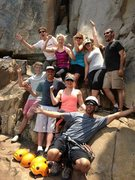 Rock Climbing Photo: That Nutty group of Clients again!!