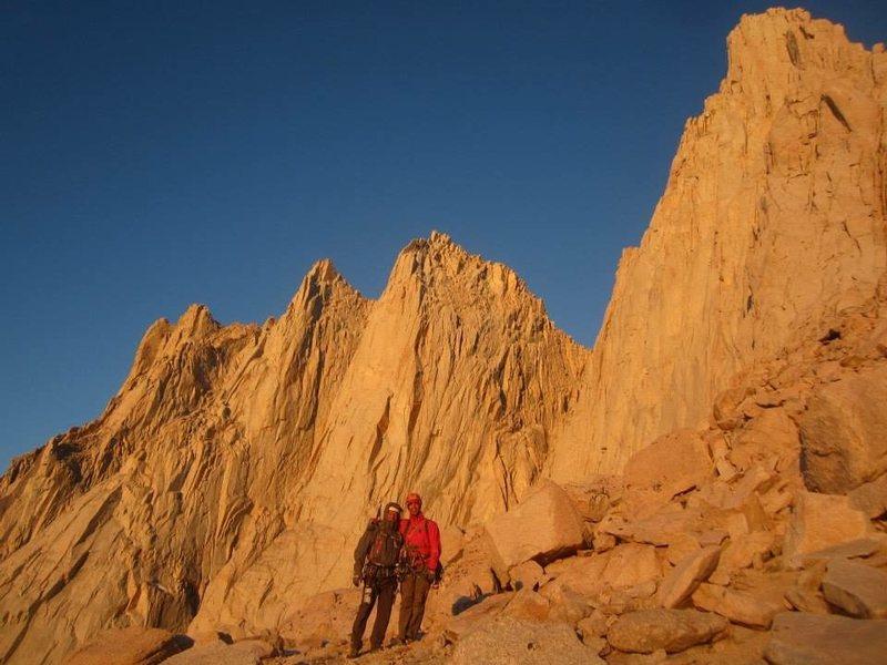 Rock Climbing Photo: Father & Son Alpinglow!!!