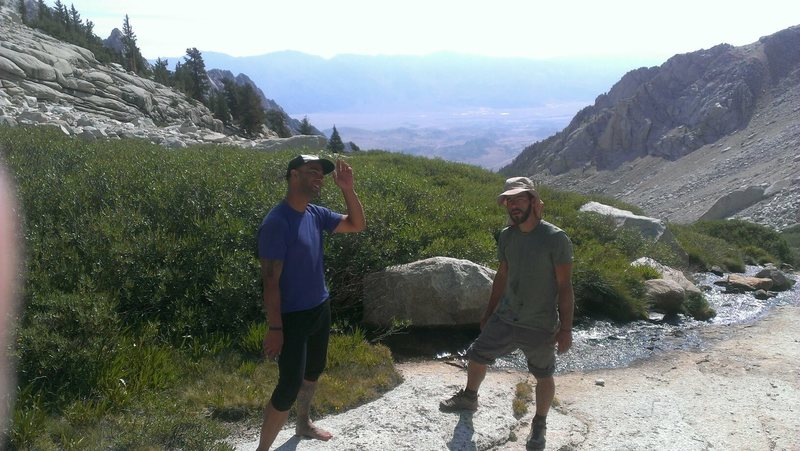 The Brothers & one of our favorite alpine secret spots!!!