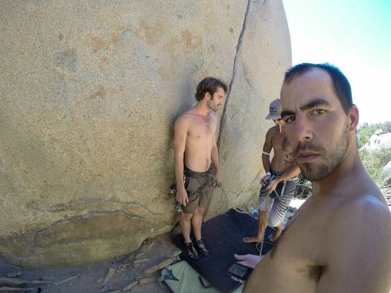 Rock Climbing Photo: Norwood Bobathan & the sexiest 25' 5.10 hand c...