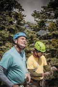 Rock Climbing Photo: Father & Son Suicide!!!