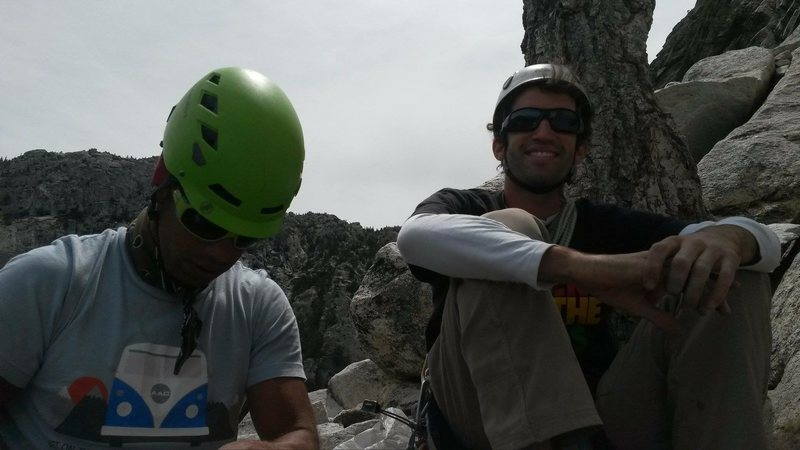 Rock Climbing Photo: Norwood & the Error!!
