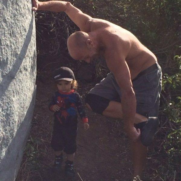 Bodhisattva, Grandpa & The Melrose boulders!!!