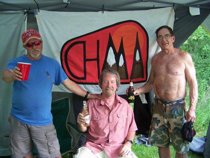 Summer 2016 reunion of 1982 climbing team, the CHMA dudes' still got it.