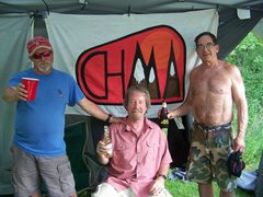 Rock Climbing Photo: Summer 2016 reunion of 1982 climbing team, the CHM...