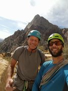 Rock Climbing Photo: Pops & Mt. Williamson!!
