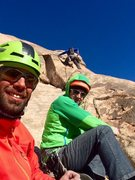 Rock Climbing Photo: The Master & the Grasshoppers!!!