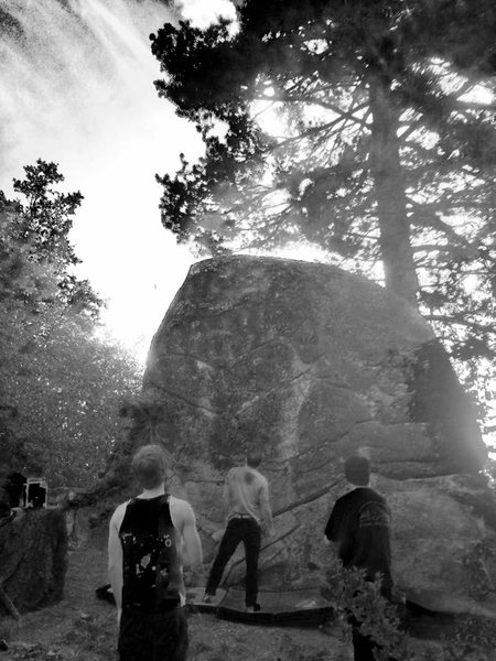 Rock Climbing Photo: What are they all doin over there lookin at that r...