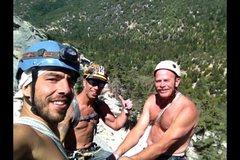 Rock Climbing Photo: The Reinig Boys!!!