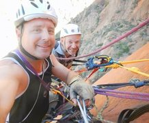 Rock Climbing Photo: The Two Germans!!!