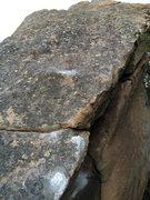 Rock Climbing Photo: Turning the corner on Final Round