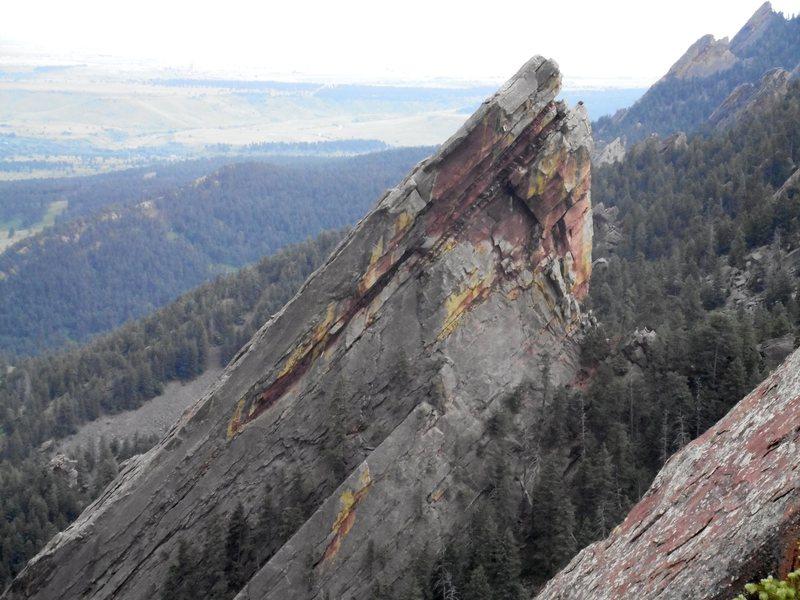 Rock Climbing Photo: Third Flatiron.