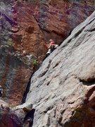 Rock Climbing Photo: Climbing the Giant Dihedral, p2. Radiohead.