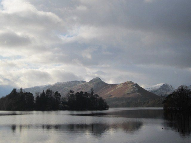 Rock Climbing Photo: Hills and The Lake near Keswick