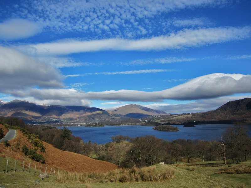 Clouds .. over Derwentwater