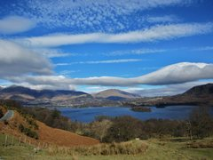 Rock Climbing Photo: Clouds .. over Derwentwater