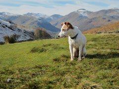 Rock Climbing Photo: Looking towards the Scawfell range