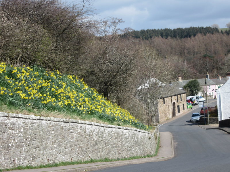 Entering village of Caldbeck